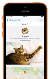 iphone showmail photoupdates cat