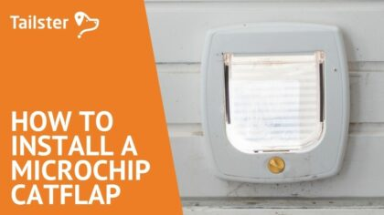 How To Install A Microchip Catflap